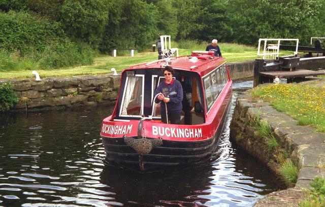 Kirklees Top Lock, Calder and Hebble Navigation