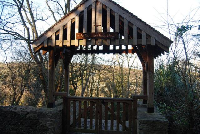 Lych Gate, St Decuman's Holy Well