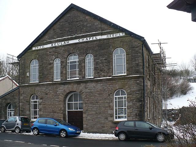 Beulah Baptist Chapel, Dowlais