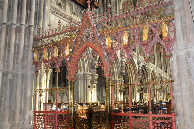 Lichfield Cathedral - Rood Screen