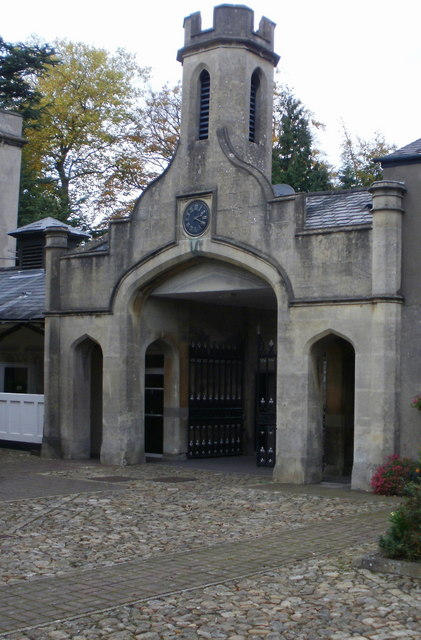 Llantarnam Abbey clock tower