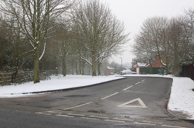 Junction of Sandford Way and A426, Dunchurch