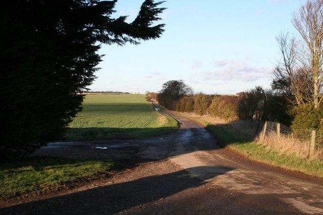 Road back to Blewbury