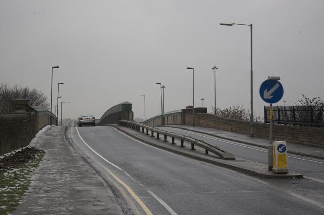 Nineveh Road at Nineveh Bridge