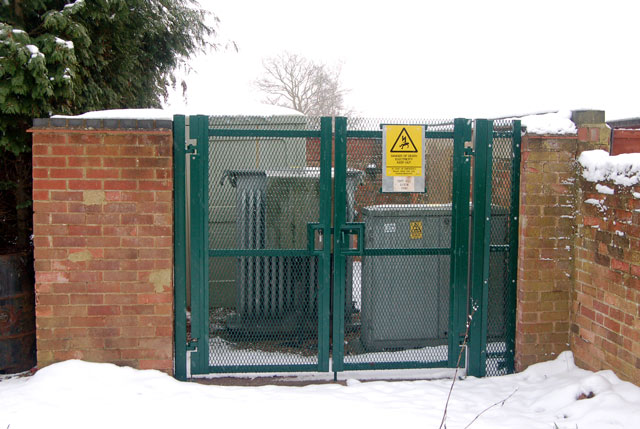 Toft Hill electricity sub-station, Dunchurch