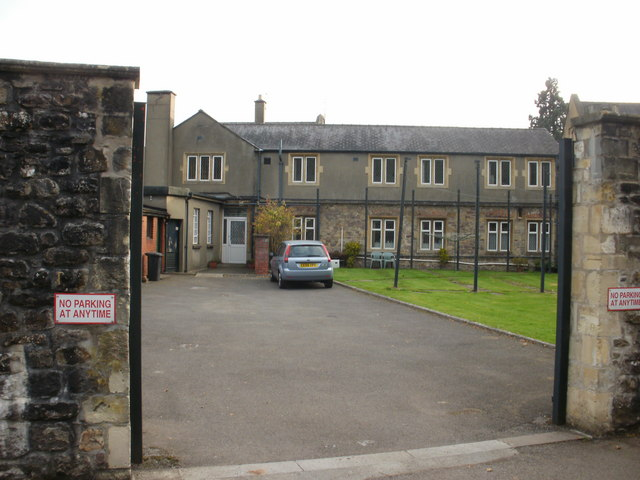 Entrance to living quarters, Llantarnam Abbey