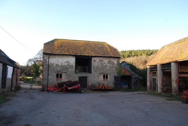 An old farm building, Kentsford Farm