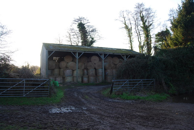 Hay barn, Kentsford Farm