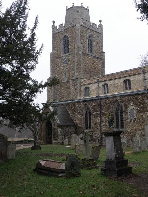 St. James church, Hemingford Grey
