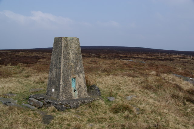 The Wolf Stones trig point