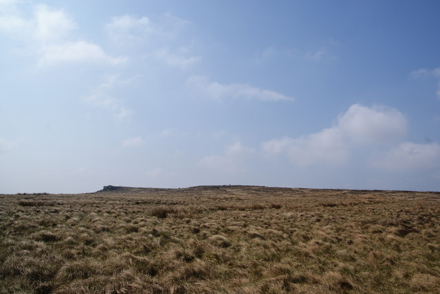 Wolf Stones seen from the Pennine Way