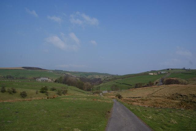 The track down to Morkin Bridge