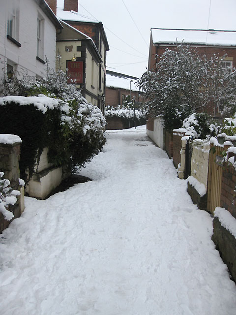 View East along Crofts Lane