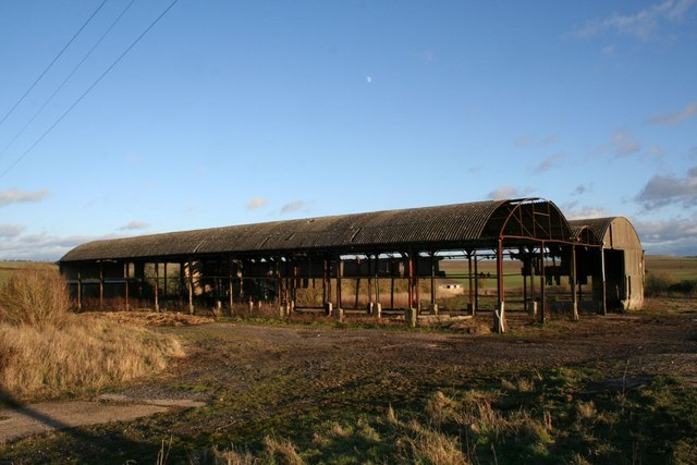 Barns by the bridleway