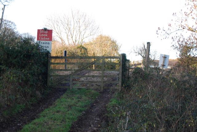 Level Crossing, West Somerset Railway