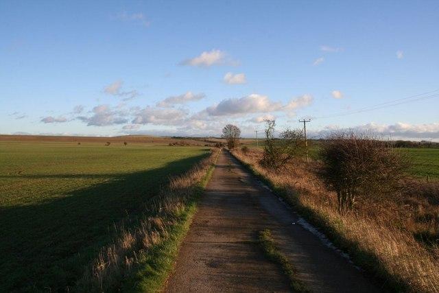 Bridleway to Roden down
