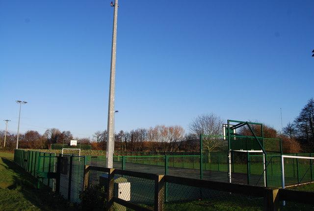 Basketball Court, Recreation Ground, Washford