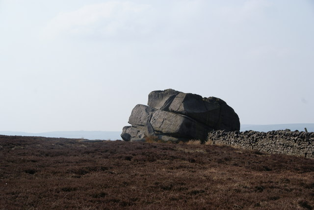 The Hitching Stone from the east