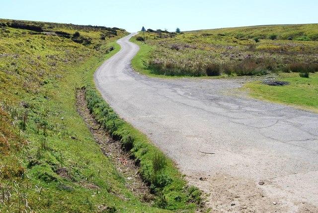 The mountain road to Glyndyfrdwy