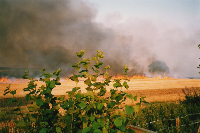 Stubble Burning in the Chilterns