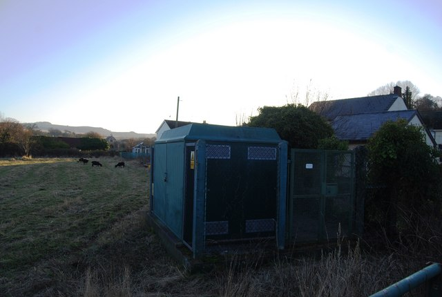 Electrical transformer, Washford