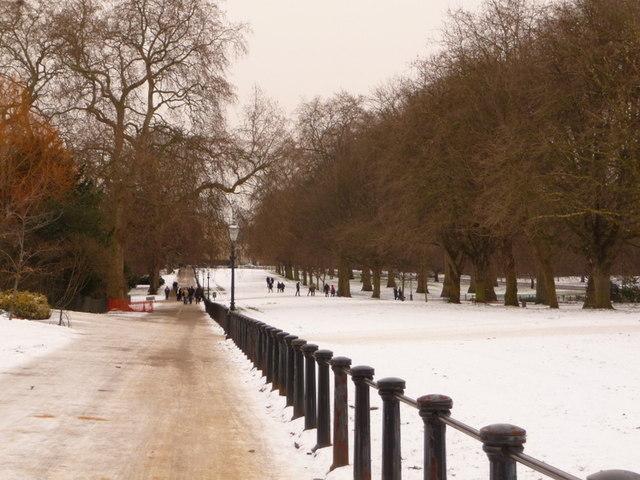 Hyde Park: Rotten Row railings