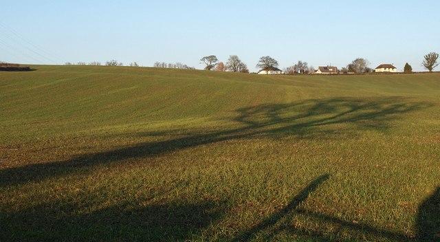 Hillside above South Hill Farm