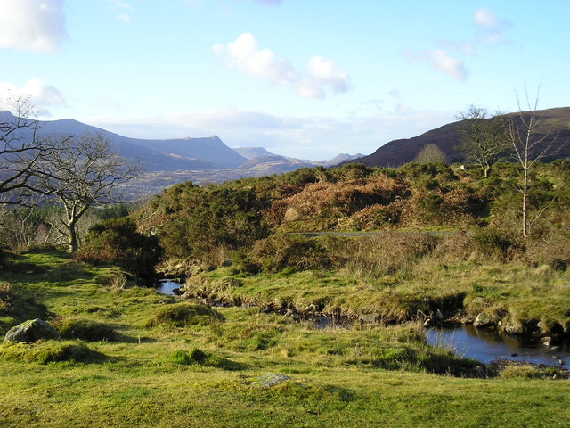 Snowdonia: view from Ty-Capel-Carmel