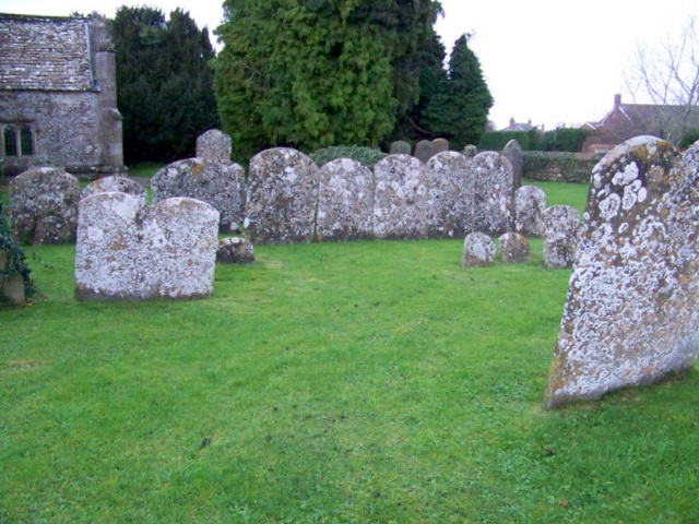 Headstones, St Andrew's Church