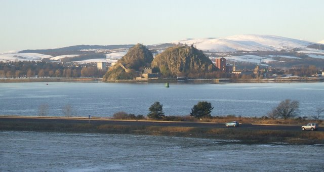 M8 and Dumbarton Rock
