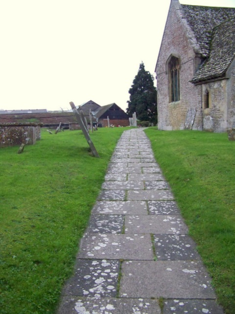 Path, St Andrew's Church