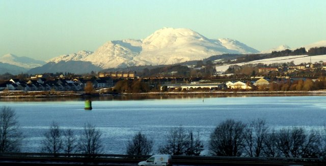 Ben Lomond and the River Clyde
