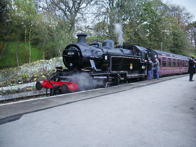 '41241' @ Oxenhope Station