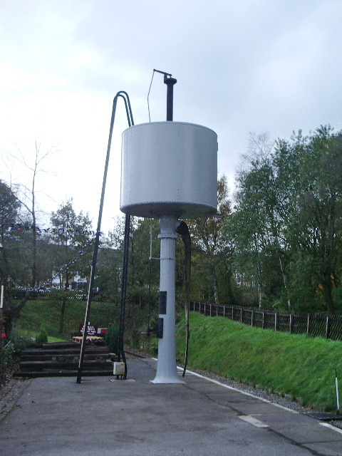 Oxenhope Station, Water tower