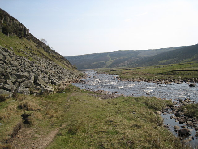 River Tees near Falcon Clints