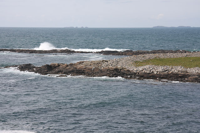 Storm beach on Eilean Trostain