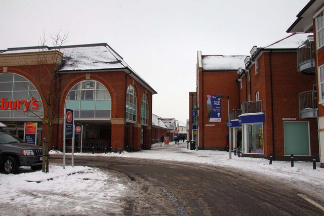 New shopping precinct in Wantage