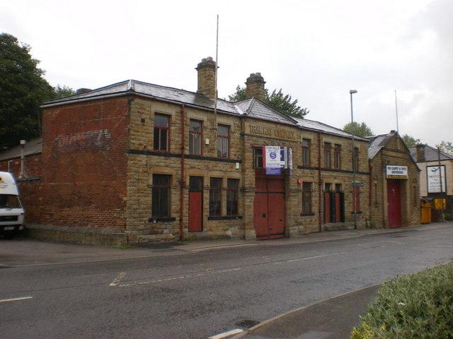 Former Tramway Company building on Bradford Road, Batley