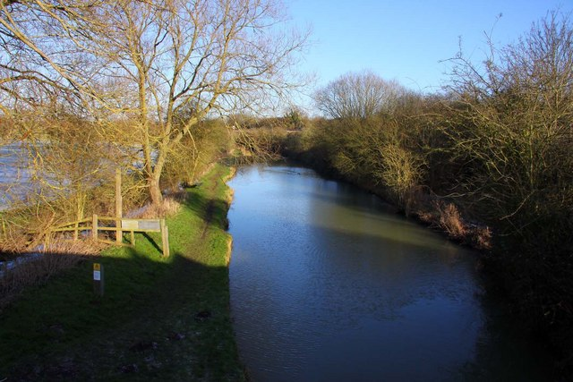 The Oxford Canal at Somerton