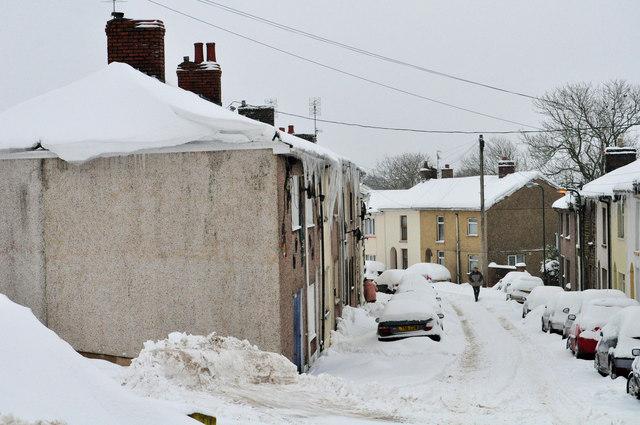 Brynmawr side street