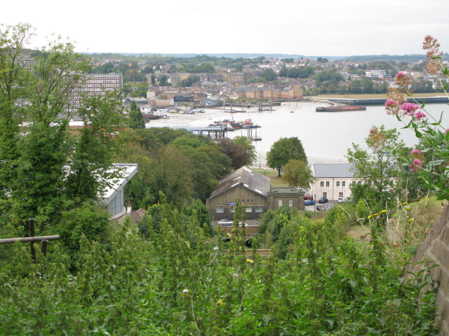 View of Chatham  from Fort Amherst