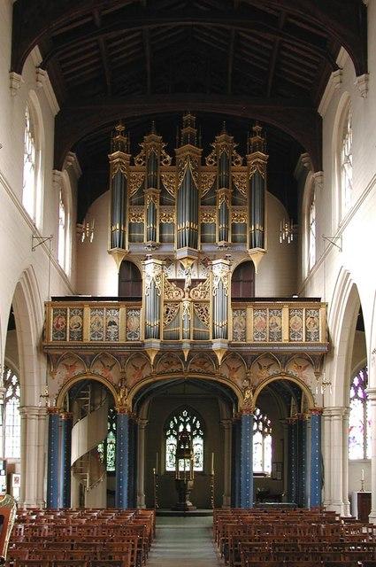 All Saints, Carshalton - West end