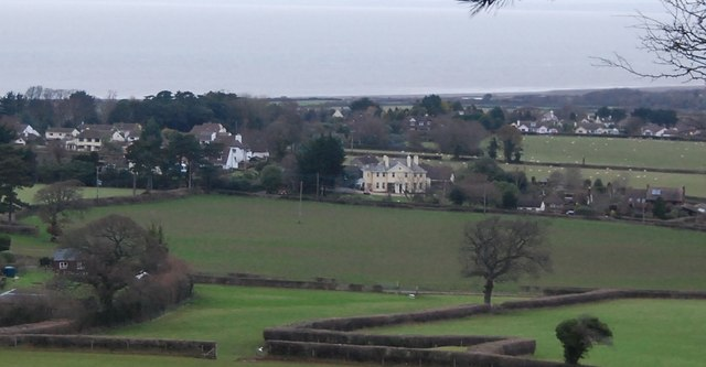 View towards Doverhay Place