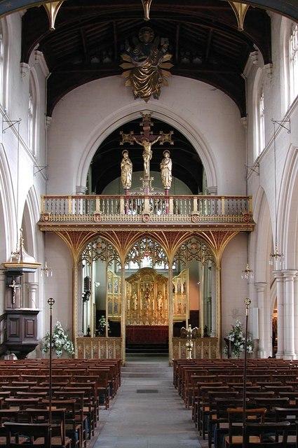 All Saints, Carshalton - East end