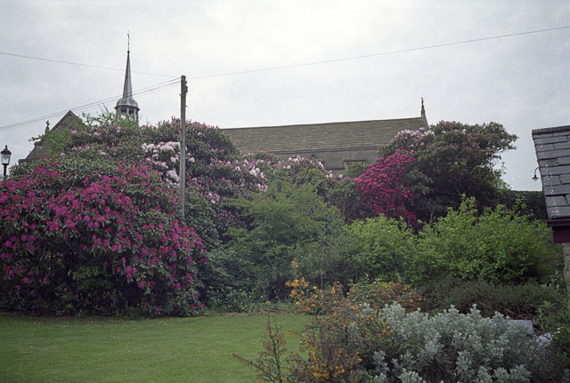 Sedbergh School gardens and chapel