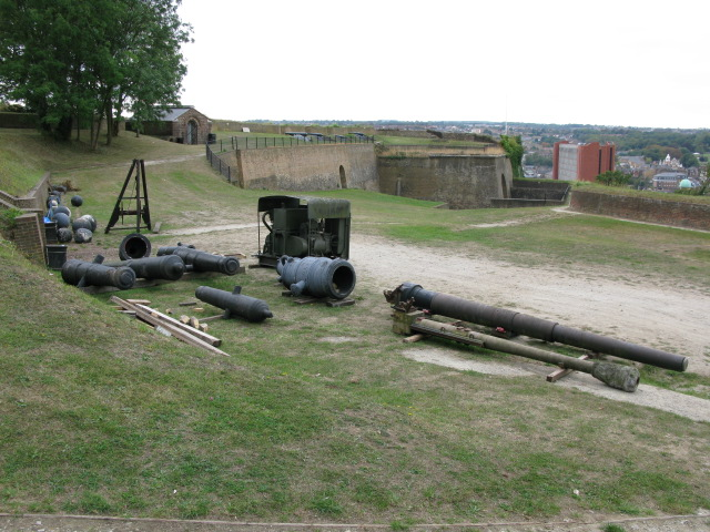Fort Amherst, cannons and cannon balls