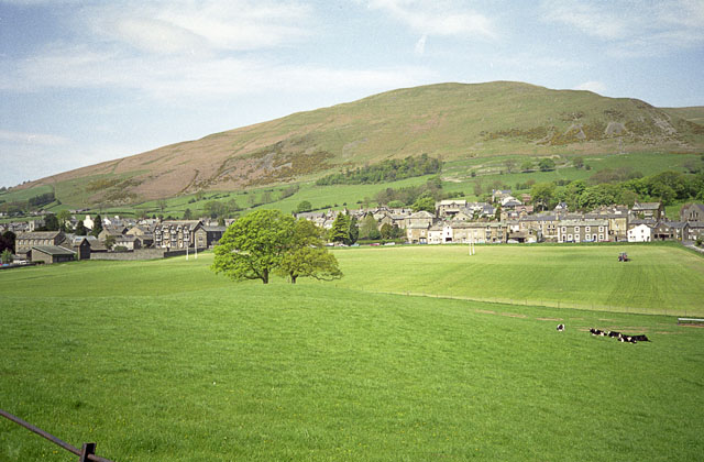 Sedbergh and Winder (a Howgill)