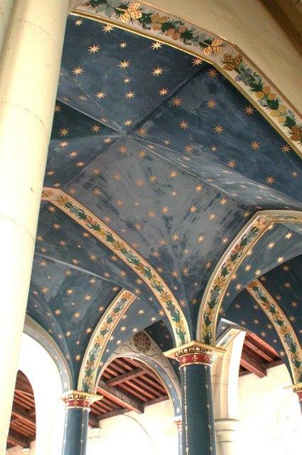 All Saints, Carshalton - Under the gallery