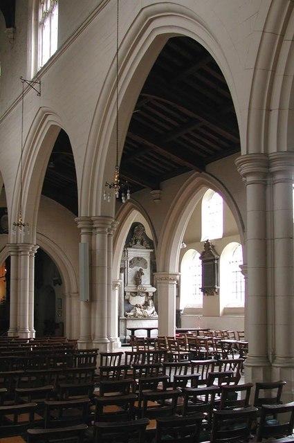 All Saints, Carshalton - Arcade