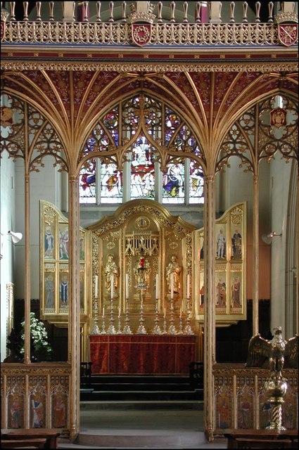 All Saints, Carshalton - Chancel